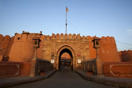 fort of Mandawa rajasthan state in indi Stock Photo - 9823752
