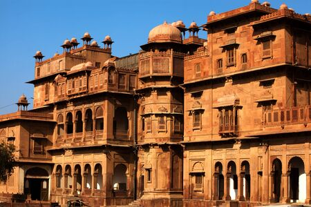 Junagarh Fort in city of Bikaner rajasthan state in india Stock Photo - 9823853