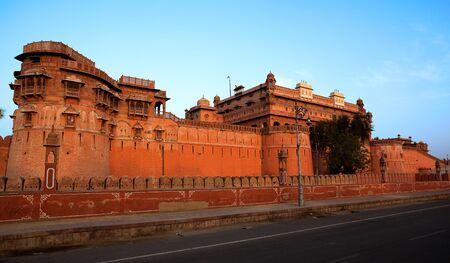 Junagarh Fort in city of Bikaner rajasthan state in india Stock Photo - 9823808