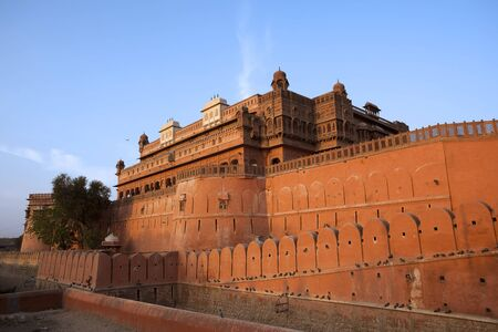 Junagarh Fort in city of Bikaner rajasthan state in india Stock Photo - 9823814