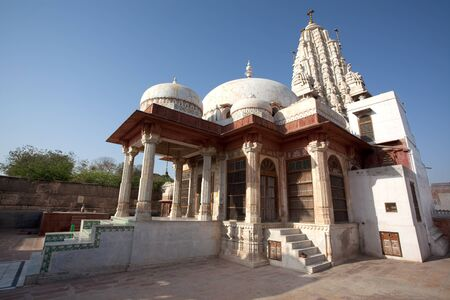 Laxmi Nath Temple in city of Bikaner rajasthan state in india Stock Photo - 9823777