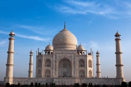 pradesh: taj mahal agra uttar pradesh in india