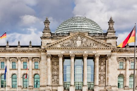 Reichstag in berlin germany