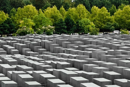 jewish Holocaust Memorial, in berlin germany Editorial
