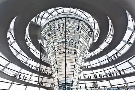 dome Reichstag in berlin germany