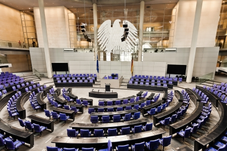 parliament german bundestag room Reichstag in berlin germany