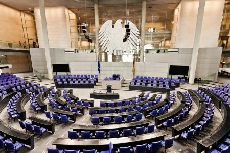 parlement Duitse Bondsdag kamer Reichstag in Berlijn Duitsland