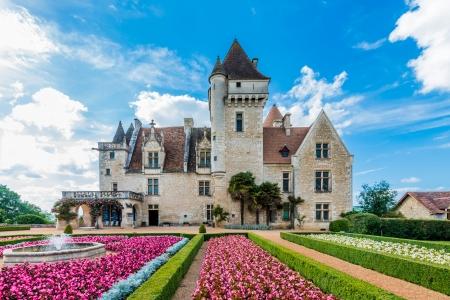 belong: Chateau des milandes who belong to josephine baker in dordogne perigord France