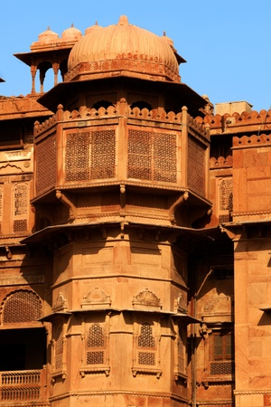 bikaner: Junagarh Fort in city of Bikaner rajasthan state in india