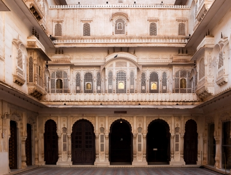 Junagarh Fort in city of Bikaner rajasthan state in indi