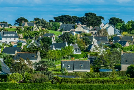 Brehat island in brittany cotes d armor France photo