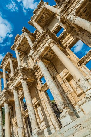 Ephesus ancient greek ruins in Anatolia Turkey photo