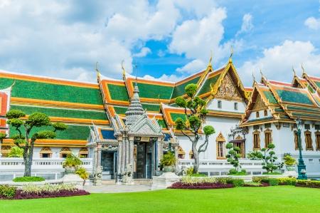 grand palace: Royal palace in bangkok thailand
