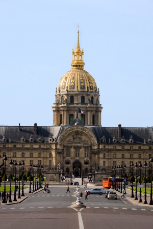 les invalidesmuseum where napoleon tomb is in the beautiful city of paris france Stock Photo - 16919489