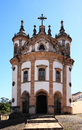 senhora: view of the church nossa senhora de rosario