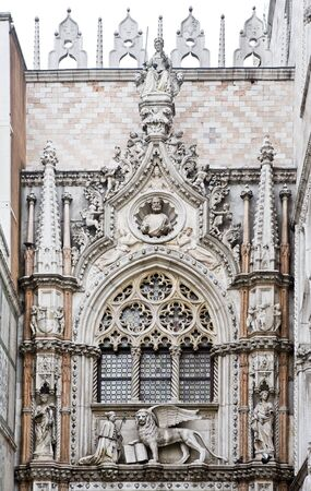 the basilic pazzia san marco saint mark place in the beautiful city of venice in italy photo