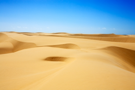 desert sand dunes of the Lencois Maranheses National Park photo