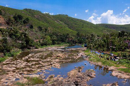 periyar: Periyar Countryside River munar in Kerala state india Stock Photo