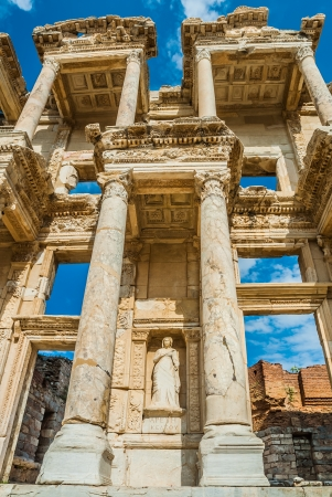 anatolia: Ephesus ancient greek ruins in Anatolia Turkey