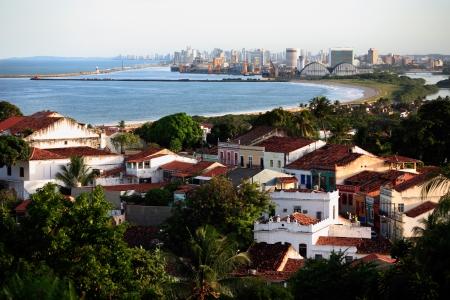 cityscape of olinda and recife pernambuco state brazil