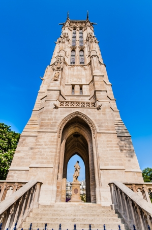 saint jacques: Saint Jacques tower in the city of Paris in france