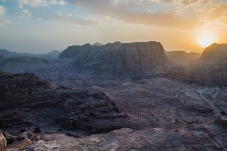 of petra: in nabatean petra jordan middle east