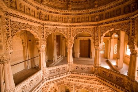 sagar: jain temple of amar sagar near jaisalmer in rajasthan state in india Editorial
