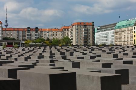 holocaust: jewish Holocaust Memorial, in berlin germany Editorial