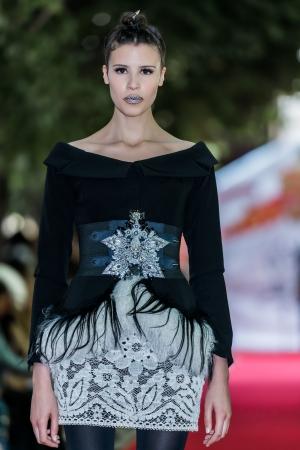 PARIS - JULY 4 : on aura tout vu fall winter 2012 fashion\ show at Paris fashion week July 4, 2012 in Paris ,France\