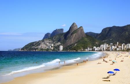 voir plage de Leblon à Rio de Janeiro Brésil