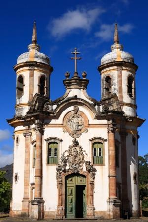Igreja de São Francisco de Assis Stockfoto