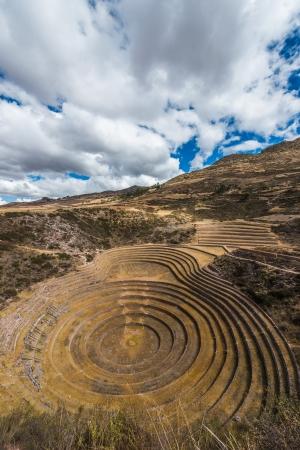 moray: Moray, Incas ruins in the peruvian Andes at Cuzco Peru