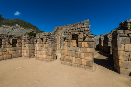Industrial zone Machu Picchu, Incas ruins in the peruvian Andes at Cuzco Peru Stock Photo - 24397354