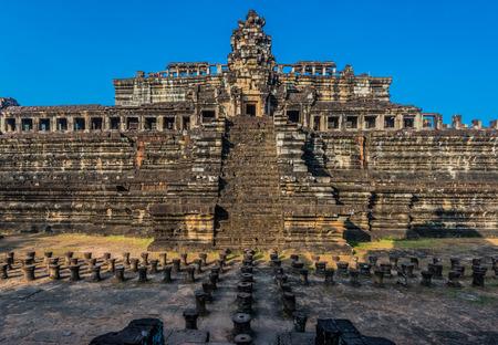 thom: baphuon temple angkor thom cambodia Stock Photo