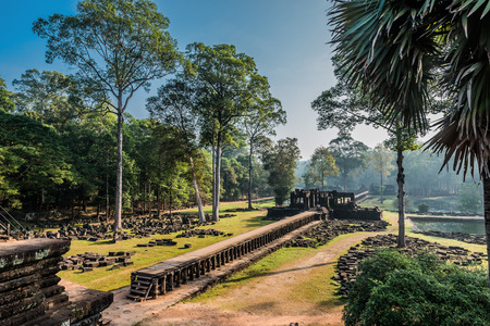 baphuon temple angkor thom cambodia photo