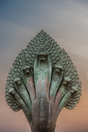 mucalinda statue snake angkor wat cambodia
