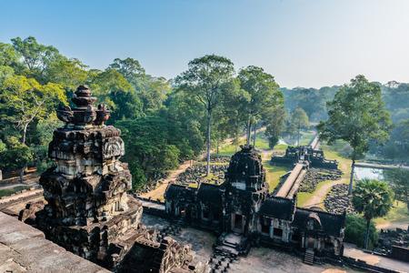 baphuon temple angkor thom cambodia Фото со стока