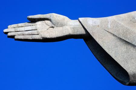 rio de janeiro: corcovado christ redeemer in rio de janeiro brazil