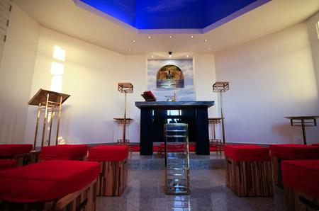 rio de janeiro: church of the corcovado christ redeemer in rio de janeiro brazil