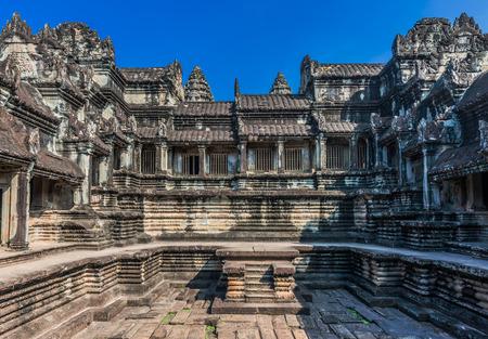 angkor wat: courtyard Angkor Wat Cambodia