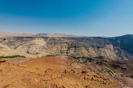 panoramics: kings way desert road in Jordan