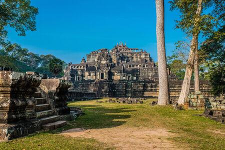 thom: baphuon temple Angkor Thom Cambodia
