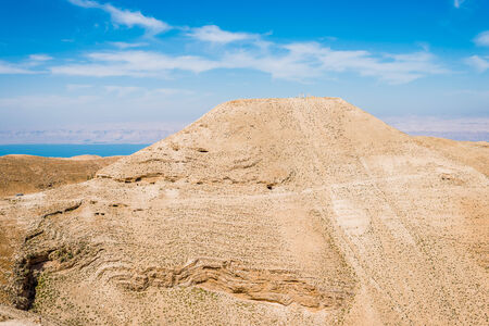 panoramics: mountain of The Herods castle machareus in Jordan