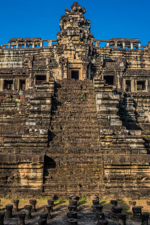 angkor thom: baphuon temple of Angkor Thom, Cambodia Stock Photo