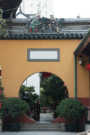 jade buddha temple: the The Jade Buddha Temple Yufo Chan Si Shanghai China