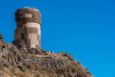 tumbas: Tumbas Silustani en los Andes peruanos en Puno Per�