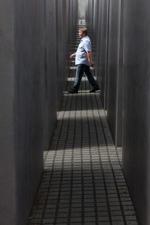 holocaust: Berlin, Germany - September 22, 2011 : Jewish Holocaust Memorial September 22th, 2011 at Berlin, Germany