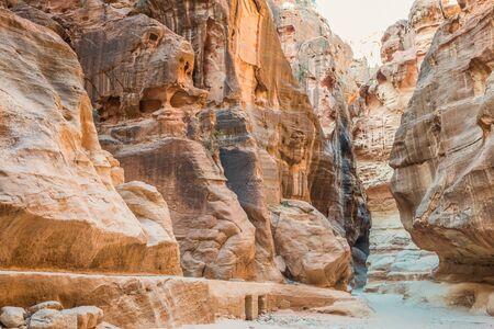 petra  jordan: in Nabatean Petra Jordan middle east