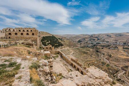 crusaders: Al Karak kerak crusader castle fortress Jordan middle east
