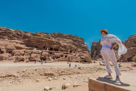 in Nabatean Petra Jordan middle east photo
